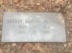 Sidney Barton Bennett