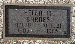 Helen M <i>Settle</i> Barnes