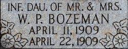 Infant Daughter Bozeman