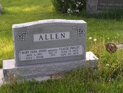 Mary Ellen <i>Jones</i> Allen