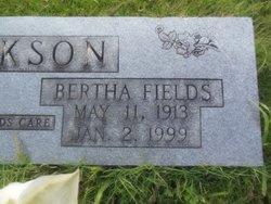 Bertha <i>Fields</i> Jackson