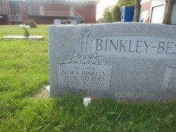 Nora <i>Binkley</i> Bess