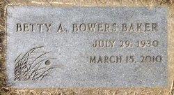 Betty A Baker