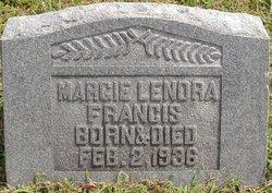 Marjorie Lenora Margie Francis
