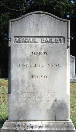 Abigail Bailey