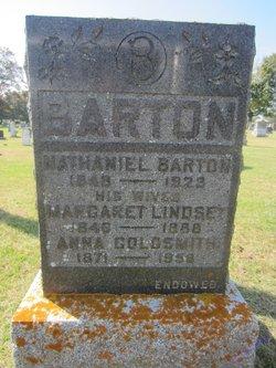 Margaret Jane <i>Lindsay</i> Barton