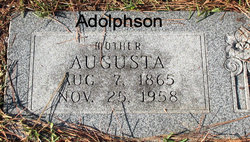 Augusta Adolphson