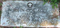 John Coe Agee