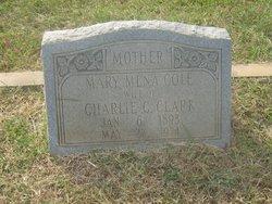 Mary Mena <i>Cole</i> Clark