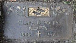 Clara D <i>Diehl</i> Foley