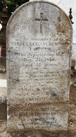 Maria Geronima de la Encarnacion <i>Vallejo</i> Cooper