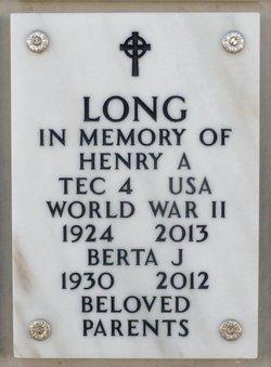 Bertha June Casey Long