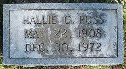 Hallie <i>Graham</i> Ross