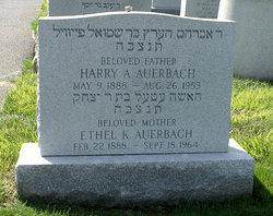 Ethel <i>Kronick</i> Auerbach