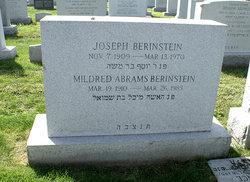 Mildred <i>Abrams</i> Berinstein