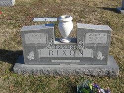 Martha D <i>Frantz</i> Dixon