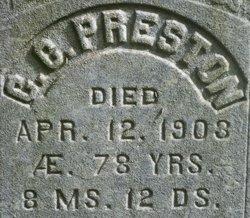 Charles C Preston