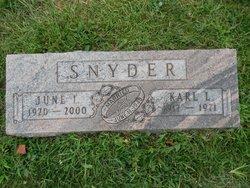 June Irene <i>Burke</i> Snyder
