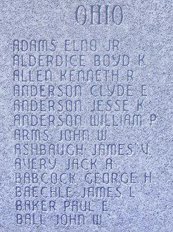 Lieut John Walter Arms