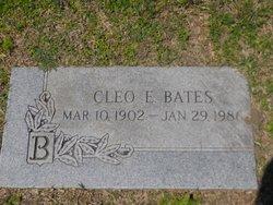 Cleo E. Bates