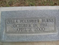 Zella <i>Pulsipher</i> Burns