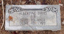 Albertine Bib Davis