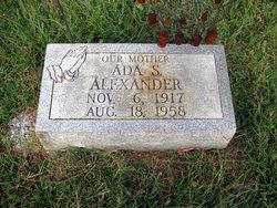 Ada S. Alexander