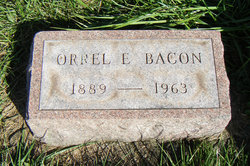 Orrel E Bacon