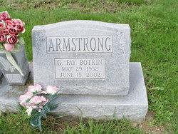 Gladys Fay <i>Botkin</i> Armstrong
