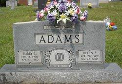 Early Lewis Adams