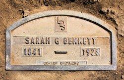 Sarah <i>Glover</i> Bennett