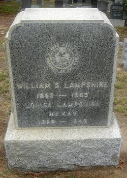 Louise <i>Thompson</i> Lampshire