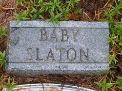 Infant Son Slaton