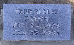 Fred Elbert Brown