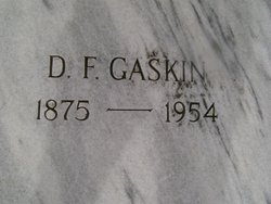 David Fisher Gaskin