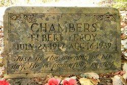 Elbert LeRoy Chambers