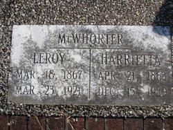 Harrietta Eugenie <i>Muse</i> McWhorter
