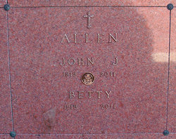 Hester Elizabeth Betty <i>McCue</i> Allen