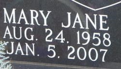Mary Jane Finke