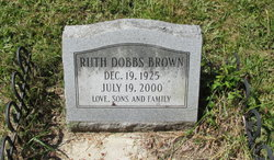 Ruth <i>Dobbs</i> Brown