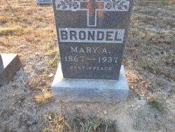 Mary <i>Welch</i> Brondel