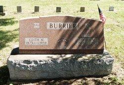 Edith May <i>Johnson</i> Burrier