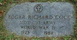 Edgar R Cole
