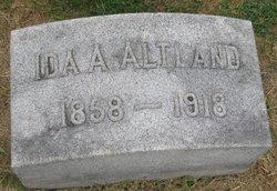 Ida A. <i>King</i> Altland