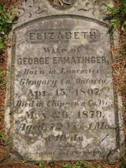 Elizabeth <i>MacDougall</i> Ermatinger
