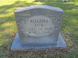 Rosana E Rosannie Ivy