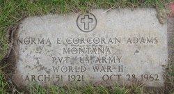 Norma E <i>Corcoran</i> Adams