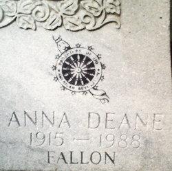 Anna Deane <i>Fallon</i> Alt