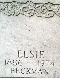 Elsie Emma <i>Beckman</i> Alt