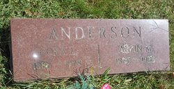 Cora Louise <i>Rockwell</i> Anderson